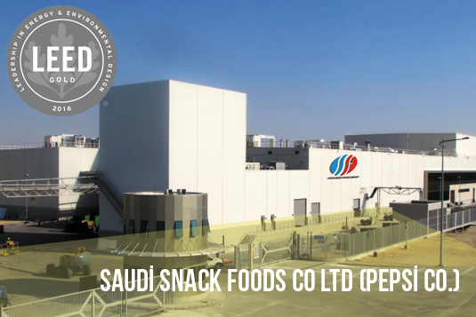 Saudi Snack Foods Pepsi Co ERKE
